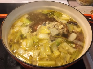 The longer you simmer, the more flavorful your stock will be!
